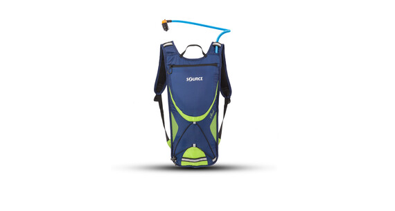 SOURCE Brisk Trinkrucksack 2 Liter dark blue/green
